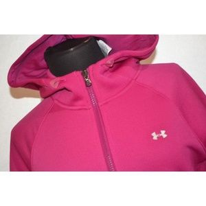 3764 Womens Under Armour Hoodie Athletic Pink